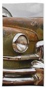 1951 Nash Ambassador Hydramatic Front End Beach Towel