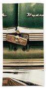 1951 Nash Ambassador Hydramatic Beach Towel