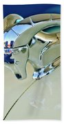 1952 Dodge Coronet  Diplomat Club Coupe Hood Ornament Beach Towel