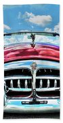 1952 Packard 250 Convertible Beach Towel