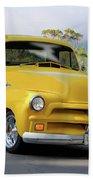 1953 Chevrolet Stepside Pickup I Beach Towel