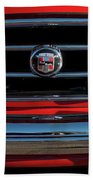 1953 Nash Healey Roadster Grille Beach Towel