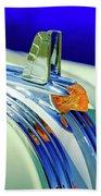 1953 Pontiac Hood Ornament 5 Beach Towel