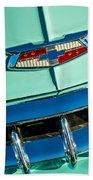 1954 Chevrolet Belair Emblem Beach Towel