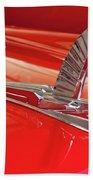 1954 Ford Cresline Sunliner Hood Ornament 2 Beach Towel