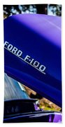 1954 Ford F100 Beach Towel