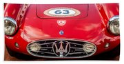 1954 Maserati A6 Gcs Grille -0255c Beach Sheet