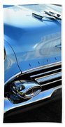 1954 Olds - Oldsmobile 88 Front View Beach Towel