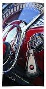 1955 Chevrolet 210 Key Ring Beach Towel