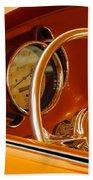 1956 Chrysler Custom 2 Door Sport Wagon Steering Wheel Beach Sheet