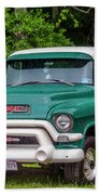1956 Gmc Pickup Beach Towel