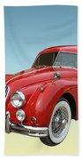 1956 Jaguar Xk 140 Mc Beach Towel