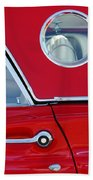 1957 Ford Thunderbird  Beach Towel