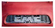 1957 Gmc Pickup Truck Grille Emblem -0329c1 Beach Towel