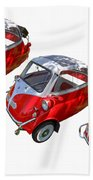 1957 Isetta 300 Beach Towel