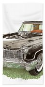 1957 Lincoln Continental Mk II Beach Towel