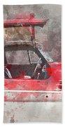 1957 Mercedes Gullwing Beach Towel