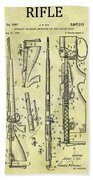 1957 Rifle Patent Beach Towel