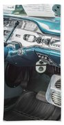 1958 Chevrolet Impala - 5 Beach Towel