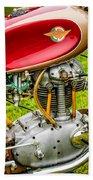 1958 Ducati 175 F3 Race Motorcycle -2119c Beach Towel