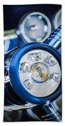 1958 Edsel Ranger Push Button Transmission Beach Towel