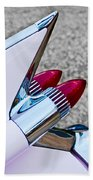 1959 Cadillac Eldorado Tail Fin Beach Towel