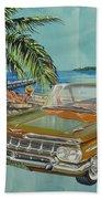 1959 Chevrolet El Camino Beach Towel