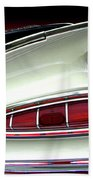 1959 Chevrolet Impala Tail Beach Towel