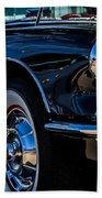 1959 Chevy Corvette Beach Towel