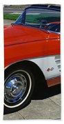 1959 Corvette Beach Towel