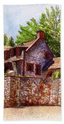 #196 Bourn Cottage Beach Towel