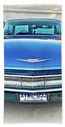 1960 Cadillac - Vignette Beach Towel