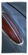 1960 Chevy Corvette Taillight Beach Towel