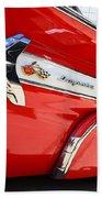 1960 Chevy Impala Low Rider Beach Towel