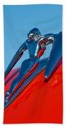 1960 Nash Metropolitan Beach Towel by Jill Reger