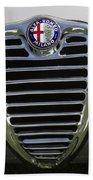 1962 Alfa Romeo Grille Beach Towel