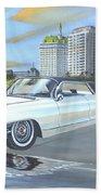 1962 Classic Cadillac Beach Towel