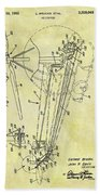 1962 Helicopter Patent Beach Towel