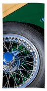 1964 Morgan 44 Spare Tire Beach Towel