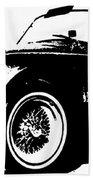 1964 Shelby Cobra Sketch Beach Towel