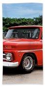 1965 Chevrolet 3100 Pickup I Beach Towel