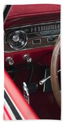 1965 Ford Mustang Fastback Dash Beach Towel