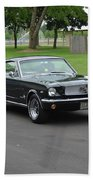 1965 Mustang Fastback Kearney Beach Towel