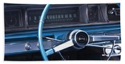 1966 Chevrolet Impala Dash Beach Towel