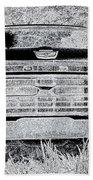 1966 Ford F100 Sketch Beach Towel
