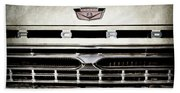 1966 Ford Pickup Truck Grille Emblem -0154ac Beach Towel