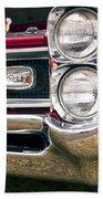 1966 Pontiac Gto Grill Beach Towel