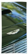 1967 Aston Martin Db6 Coupe Hood Emblem Beach Towel