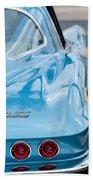 1967 Chevrolet Corvette 11 Beach Towel