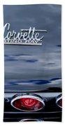 1967 Chevrolet Corvette Taillight 3 Beach Towel